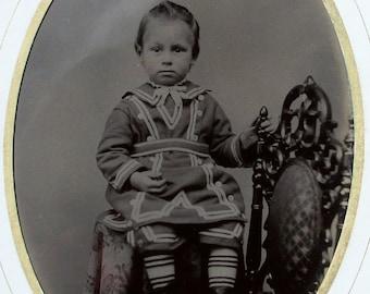 Tintype -  Half Plate - Sweet Innocence