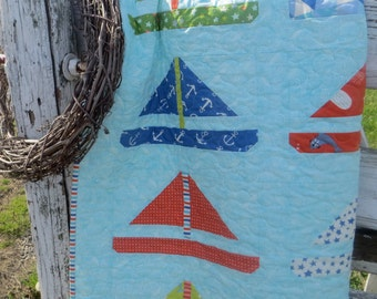 Sail Away Baby Quilt