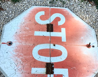 Old Stop Sign
