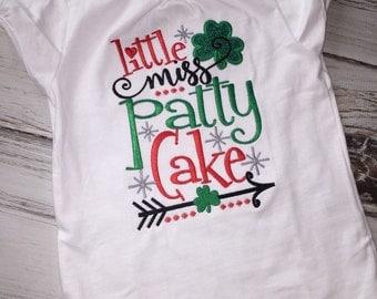Little Miss Patty Cake Shirt
