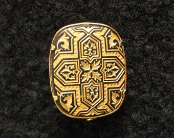 Spanish Damascene Pin