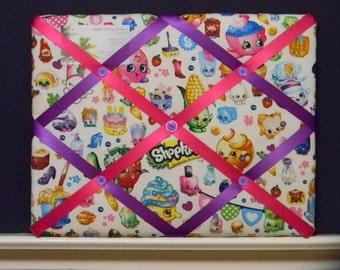 11 x 14 Shopkins Party Memory Board