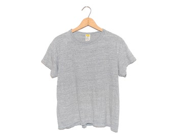 Vintage Russell Athletic 70's Heather Grey T-shirt, Made in USA - XL
