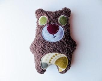 Chocolate brown bear plush, toy, plush animal