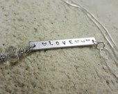 Love necklace Valentine's day gifts for her