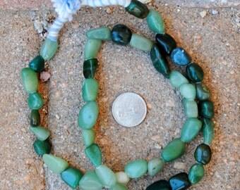African Jadeite: 8-15mm