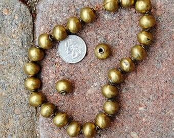 Ethiopian Fancy Brass Beads