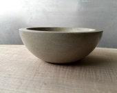 Small Minimalist Concrete Bowl
