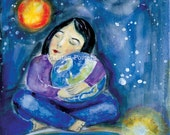 What the World Needs Now - art print from my original painting