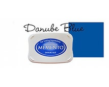 Memento Dye Full Size Water Based Ink Pad DANUBE BLUE Royal, Navy