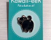Black Cat Hard Enamel Pin