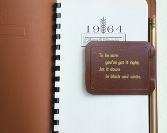 1964 Things to Remember Date Book / Dialy Planner / Journal