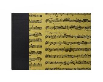 Music Composition Book PARCHMENT
