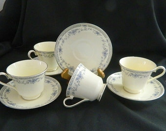 Minton Bellemeade Footed Cup & Saucer Sets - 1971