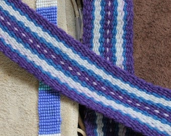 Handwoven Wool Sash,  Regalia, Sash Belt or Strap