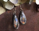 soldered crystal dangle forgivingworks earrings to go with forgivingworks necklaces...