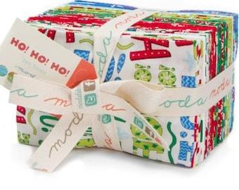 Ho Ho Ho Fat Eighth Bundle from Deb Strain and Moda