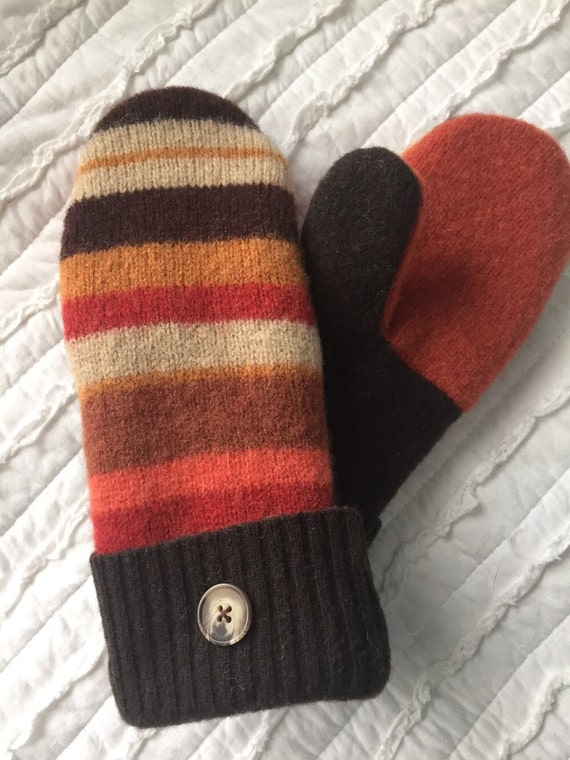 Wool Sweater Mittens For Sale 37