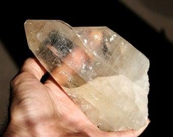 Citrine Quartz Crystal Specimen