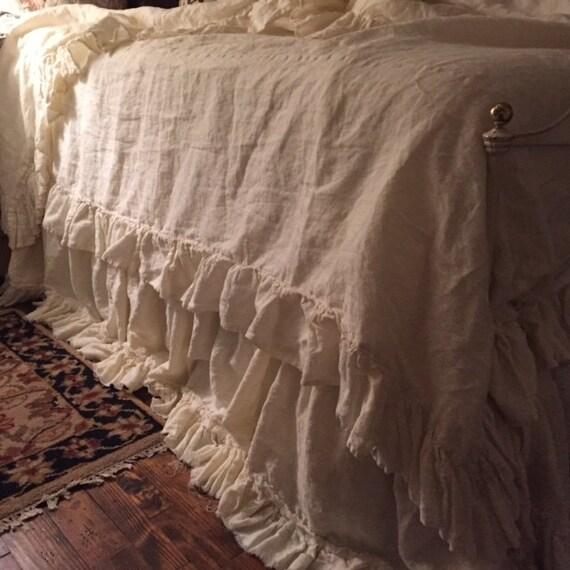 Romantic Linen Beddingwashed Linen Bedding