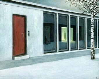 Passage - Oil painting