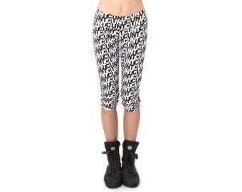 Mature Crop Leggings - Yoga Pants - Cropped Leggings - Organic Yoga Clothing - Leggings - Capri Leggings