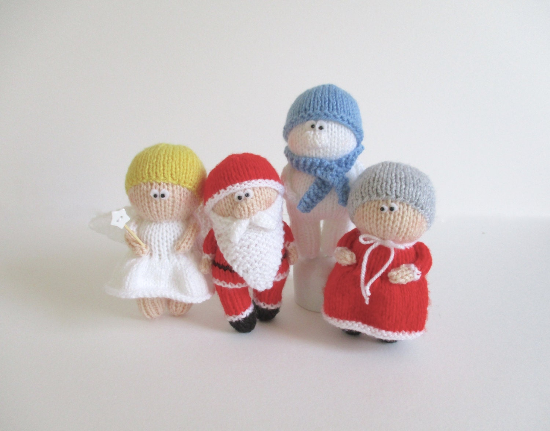 Christmas Dolls toy knitting patterns