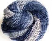 Silence - NZ corriedale wool  - single thread shawl yarn 104gr 423m