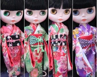 kimono Blythe,DAL,Licca Takara BJD Doll.