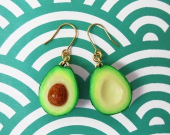 Avocado Earrings - Gold