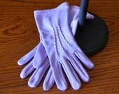 Lavender Gloves (sz 7)