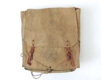 Boy Scout Canvas Backpack Rucksack Yucca Bag