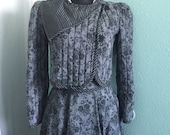 Vintage 80's Gunne sax Jacket and Skirt Set