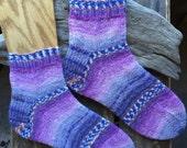 Hand knitted ANKLE - CREW socks //Opal sock yarn Sweet and Spicy 2 // Women's knitted socks // Knitted Socks