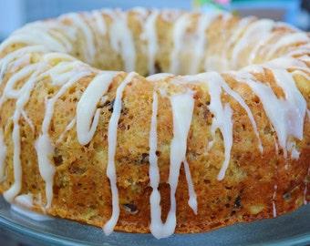 ON SALE  Banana Pineapple Carrot Bunt Cake