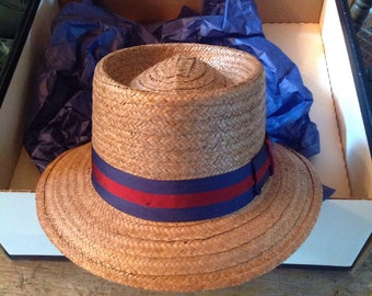 Worth & Worth Straw Summer Hat Fedora Capas Design Large