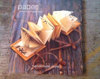 Paper Primprose Paper Arts Book Handmade Style