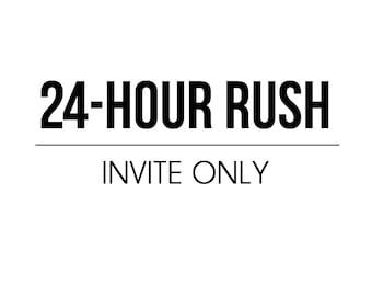 24 HOUR RUSH - Invite