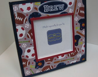 Sports theme Square Frame