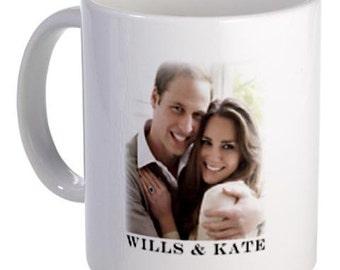 Prince William Kate Middleton Royal Wedding Coat of Arms 11oz Ceramic Coffee Mug