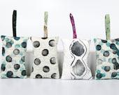 Quilted Sachet, Lavender Sachet, Balsam Sachet, Hand Printed Modern Linocut, Gift for her, OOAK gifts,