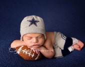 Baby Boy, Football set, helmet and pants, newborn photo prop