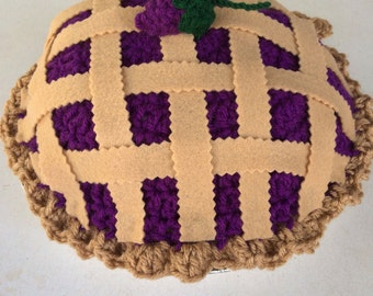 Boysenberry Pie Hat Beanie