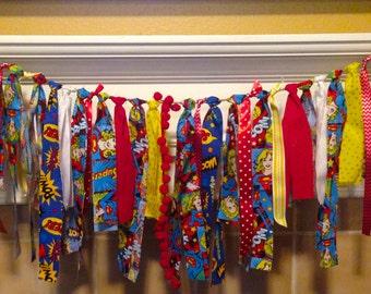 Supergirl, Superhero birthday party banner, supergirl, superhero banner, first birthday, superhero highchair, banner, superhero theme