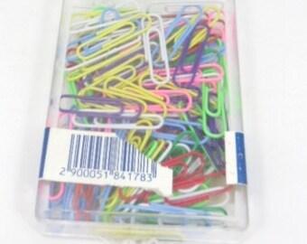 100 pcs. colorfull papar clips , 33mm
