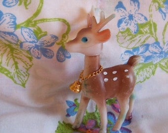 sweet little deer with bell