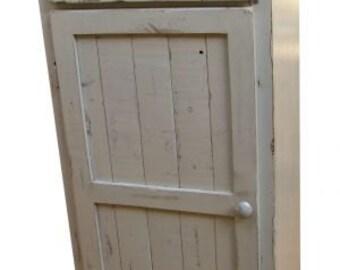 Antiqued Linen Cupboard