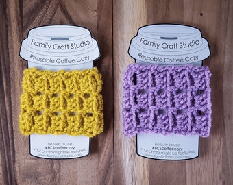 Made-to-Order 2-Set Scales Coffee Cozies