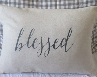 Blessed Pillow Cover