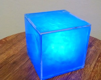 Cosmic Cube - 3 inches with LED light